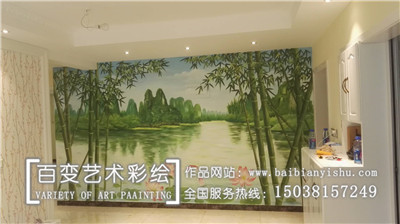 河南3d墙体彩绘