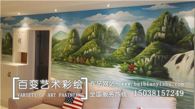 新郑墙绘手绘墙公司