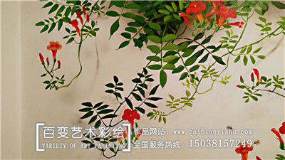 河南彩绘墙绘公司