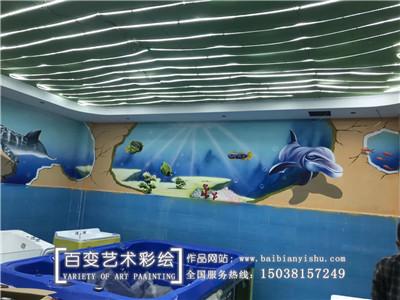 河南手绘墙体彩绘