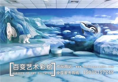 河南手绘背景墙