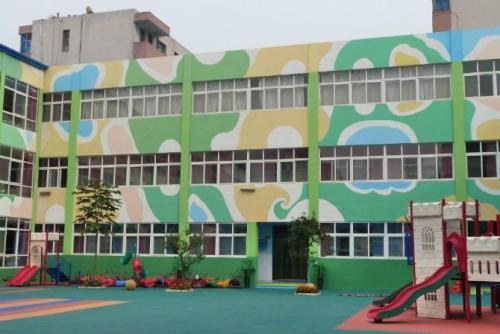 郑州幼儿园彩绘墙