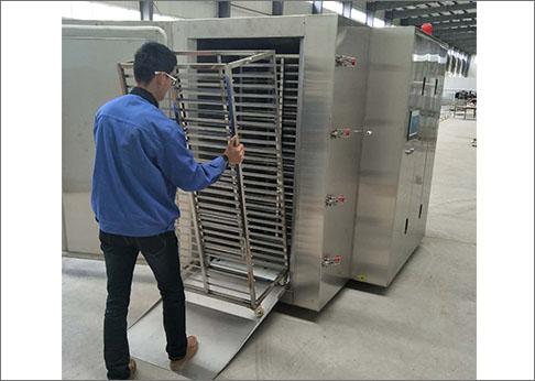 毛豆液氮速冻机
