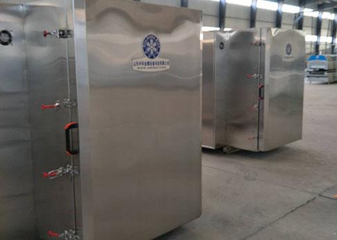 德州推进式液氮速冻柜