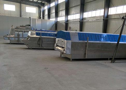 济宁隧道式液氮速冻机