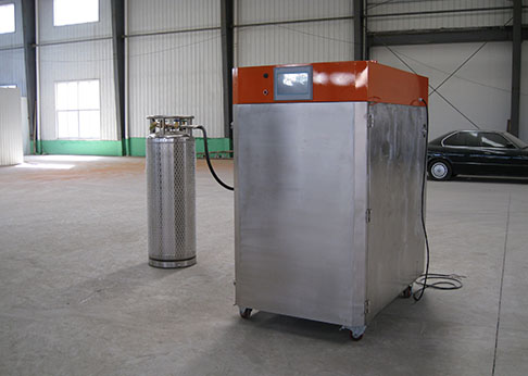 海鲜液氮速冻柜