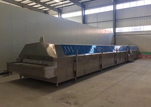海鲜隧道式液氮速冻机