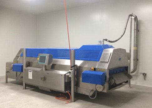 高效隧道式液氮速冻机
