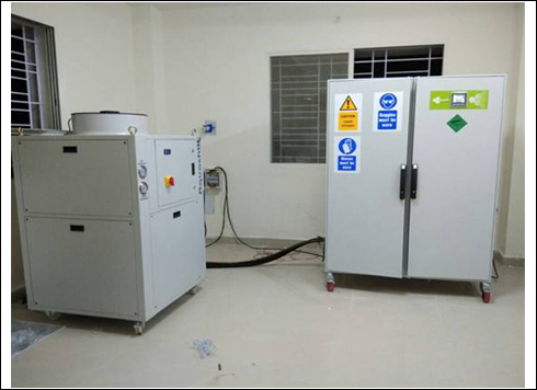 实验室液氮速冻机