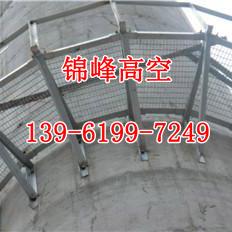 不锈钢烟囱爬梯护网防腐