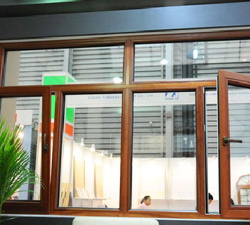 贯冠高端多腔保温铝塑断桥门窗