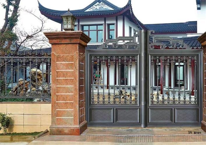鋁藝庭院大門