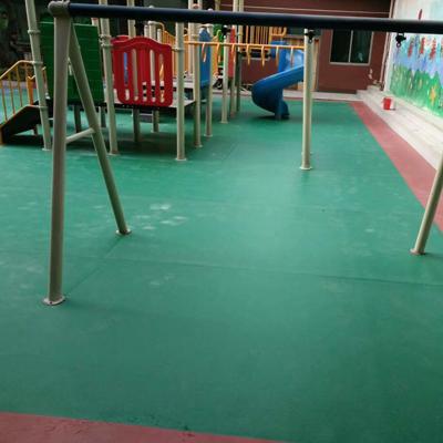 保定石家庄室外塑胶地板