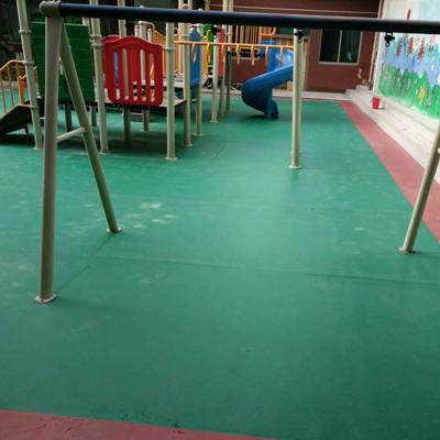 石家庄室外塑胶地板