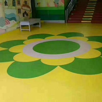 沧州河北幼儿园塑胶地板