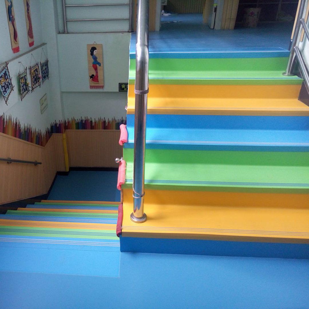 学校楼梯踏步