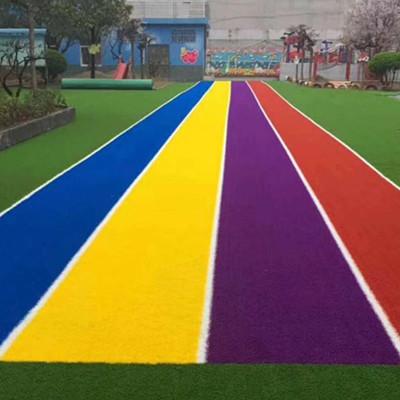幼儿园专用针织草坪