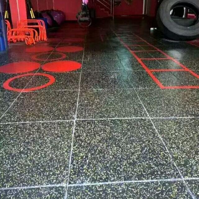 石家庄健身房橡胶垫