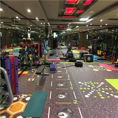 健身房360私教区定制地胶