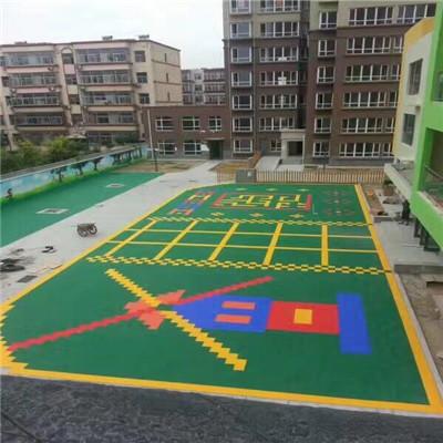 石家庄幼儿园拼装地板