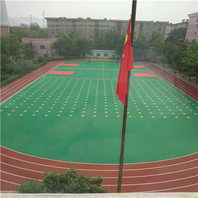 学校用悬浮拼装地板