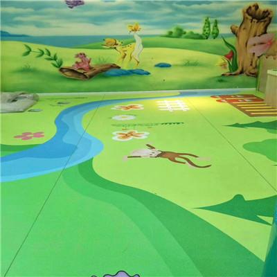 卡通pvc地板