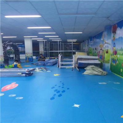 幼教卡通定制塑胶地板