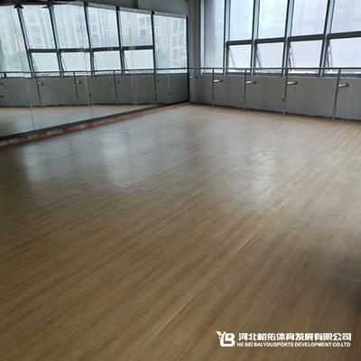 廊坊重庆健身馆木纹运动地板