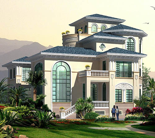 贵阳轻钢结构别墅