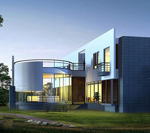 景区轻钢别墅工程承包