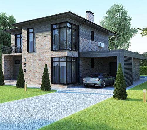 輕鋼别墅建築