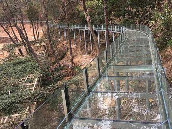 郑州玻璃漂流施工