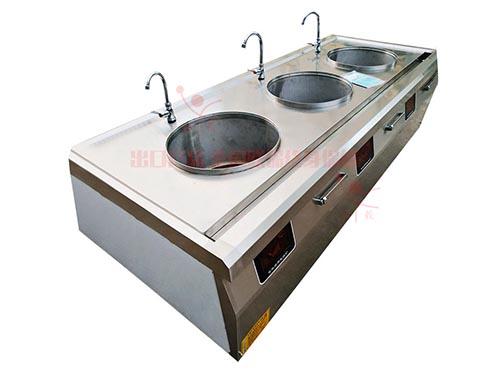 电磁三头煲汤炉