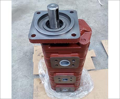 钻机用三联齿轮油泵