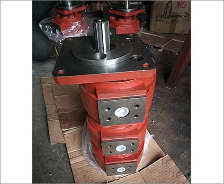 吊车专用高压三联油泵