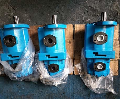 高壓雙聯齒輪油泵