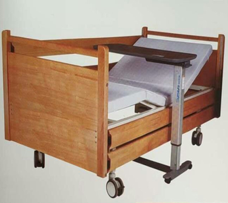 双电动木质床