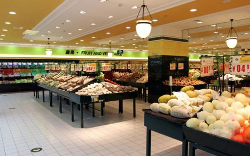 都匀贵州水果店货架