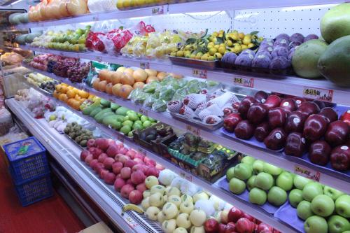 都匀贵阳水果展示架