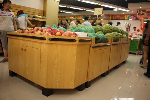 貴州水果展櫃