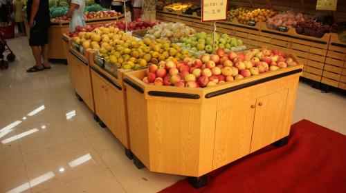 都匀贵阳水果展柜