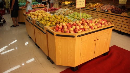 遵义贵阳水果展柜