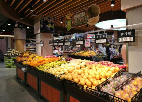 贵州蔬菜展示架