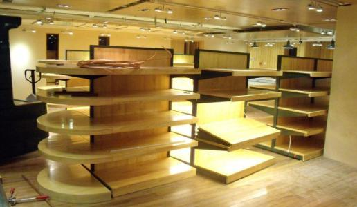 贵阳木制货架