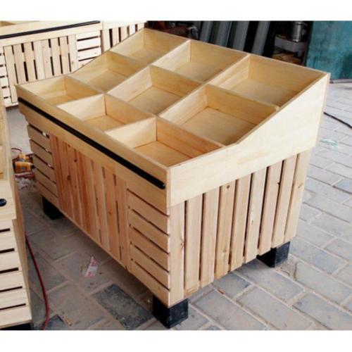 貴州木製幹貨展櫃