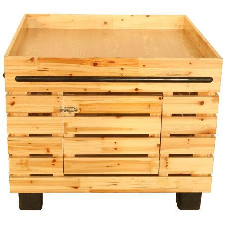 木製幹貨展櫃