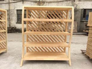 木質展櫃貨架