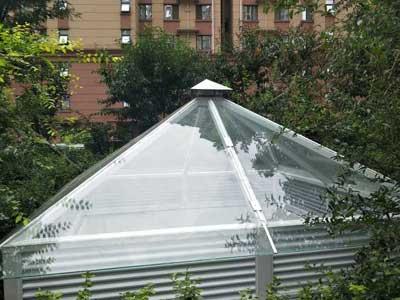 阳光雨棚厂家