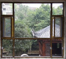 断桥铝合金窗纱一体门窗