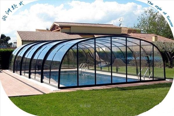 活动游泳池阳光房